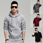 New Men Casual Warm Hooded Hoodies Coat Jacket Sweatshirt Tops Outwear Overcoat