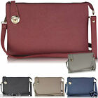 Ladies Wristlets Purse Womens Wallet Clutch Bag Faux Leather Handbag Pouch New