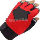 Training Body Weight Lifting Workout Yoga GYM Half Fingers Gloves Vest 2015 LS