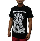 System of a Down Rock Band T-Shirt Black/White