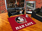 Florida State Seminoles Man Cave Area Rug Choose from 4 Sizes