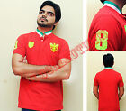 New Mens Polo T-Shirt Short Sleeve Top Designer Style Fit M,L,XL