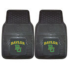 Baylor University Bears Car Mats 4 Pc Front & Rear Heavy Duty Vinyl