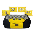 Brand New Yellow Racing Canvas Removable Pet Bed Sofa for Small-Large Dog Puppy