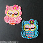 Iron on - Sweet Little Owl - Baby/Kids - Embroidered Patch - Applique - Sewing