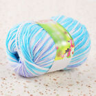 50g Super Soft Double Knitting Natural Wool Acrylic Cole Colours Yarn Ball