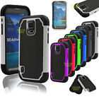 For Samsung Galaxy S5 Active G870 Shockproof PC Silcone Rubber Hard Case Cover