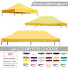 100% Waterproof Pop Up Canopy Tent Replacement Canopy Top Cover Bonus weight bag