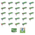 NFL REUSABLE PICNIC TABLE COVERS ELASTIC BANDS KEEP IT SNUG WASHABLE TABLE TOPIT