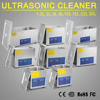 DIGITAL STAINLESS ULTRASONIC CLEANER ULTRA SONIC BATH CLEANING TIMER HEATING NEW