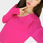 Women Long Sleeve Winter Wool Jumper Pullover Tops Cashmere Knitted Sweaters FKS