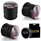 Spider 100M-2000M 10LB-300LB Black 100% PE Dyneema Braided Fishing line