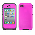 Waterproof Shockproof Dirtyproof Hybrid Rugged Hard Case Cover For iPhone 4S 4