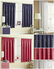 Childrens Moons & Stars Curtains Thermal Blockout Tape Pencil Pleat Kids Nursery