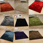 Plain Medium Large Small Shiny Short Shaggy Rugs Soft Stylish Fluffy Runners