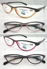 L323 Super Fashion Reading Glasses with Dotty Style Design Spring Hinges+150+175