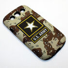 United States Army Camouflage Hybrid Shockproof Case For Samsung Galaxy S3 I9300