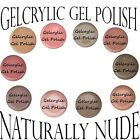 Gelcrylic Gel Polish Naturally Nude Collection