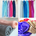 SILKY DRAPE WEDDING BRIDAL FABRIC STUDIO COSTUME TABLECLOTH DIY DOLL COSPLAY 44""