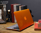 "Orange Crystal Plastic Hard Case Cover for MacBook 12"" Air PRO Retina 11"" 13 15"""