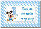 PERSONALISED KIDS BIRTHDAY RECTANGLE STICKER SEAL(Buy 2 get 1 free)KBRS30
