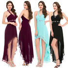 New High Low Bridesmaid Wedding Masquerade Cocktail Evening Ball Gown Prom Dress