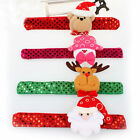 Santa Claus Slap Circle Bracelet Christmas Jewelry Gift  Xmas Decoration