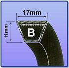 V BELT B26 - B55 17MM X 1MM VEE BELTS FREE UK NEXT DAY DELIVERY