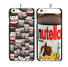 Funny Nutella Pattern Cover Case For Apple iPhone 5S