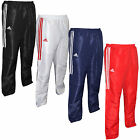 NEW ADIDAS MENS BOYS SPORTS CASUAL TRAINING TRACKSUIT PANTS TROUSER 4 COLOR