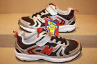 BOYS NEW BALANCE RED/BLACK/SILVER 510 SHOES -  SEE LISTING F