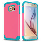 Hybrid Soft Rubbery Rubber Shockproof Case Cover for Samsung Galaxy S6 edge Plus