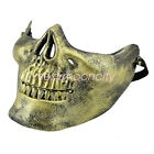 Half Face Protection Skull Warrior armor Mask Airsoft Paintball GOL Party Masks