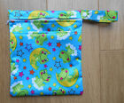 Small Double Zip Wet Bag for Reusable Nappies   CSP   Breast Pads