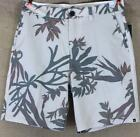 "Quiksilver Scorpion Forest 20"" Hybrid Amphibians Shorts Mens Taupe Tropical NWT"
