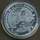 Spain 2002 10 € Silver coin - Presidency of European Union - Proof