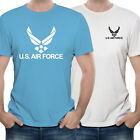 US AIR FORCE USAF EMBLEM ARMY WINGS MILITARY CUSTOM MADE T SHIRT (T-USAF-01)