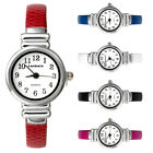 Elegant Womens Kid Bangle Bracelet Watch Quartz Analog Numbers Watch 5 Colors