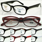 L334 Fashion Plastic Frame Reading Glasse Flexible Arms /More Colours/High Value
