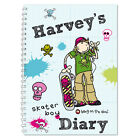 2016 2017 Start Any Month - PERSONALISED 12 Month Diary / Diaries for Kids