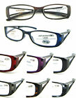 L348 2 Pairs of Plastic Frame Reading Glasses In 8 Different Colours
