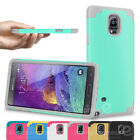 Shockproof Rugged Rubber Hard Rubbery Cover Case for Samsung Galaxy Note 3 4 5