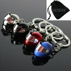 Crash Helmet Keyring Superbike Motorbike Scooter Motorcycle Bike F1 Rally Sport