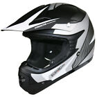 LEOPARD Childrens Kids MOTOCROSS MX HELMET Off Road Crash goggle set QUAD