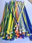 "8"" ASSORTED COLOR Network Cable Cord ZIP Wire Tie Strap 40 Lbs Nylon"