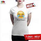 LACHFLASH # T-Shirt #lachflash Smiley Icon Emoticons Iphone Android IOS Ipad MAC