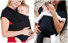 Adjustable Breathable Infant Newborn baby Carrier Ring Sling Wrap Backpack NEW