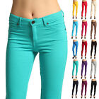 Women's Casual Skinny Leg Jeggings Pencil Pants Stretchy Down Jeans Trousers New