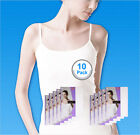 SBW Try Underwear Women Sleeveless Smart Camisole Tank Top 100% Cotton 10pack