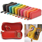 New Portable Woman Genuine Cow Leather Car Key Coin Cases Key Bag Man Key Wallet